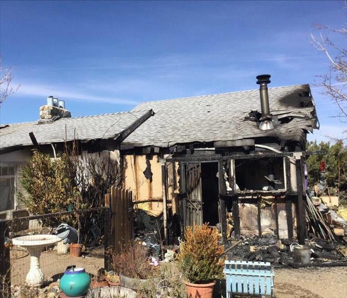 Home Affected by Fire