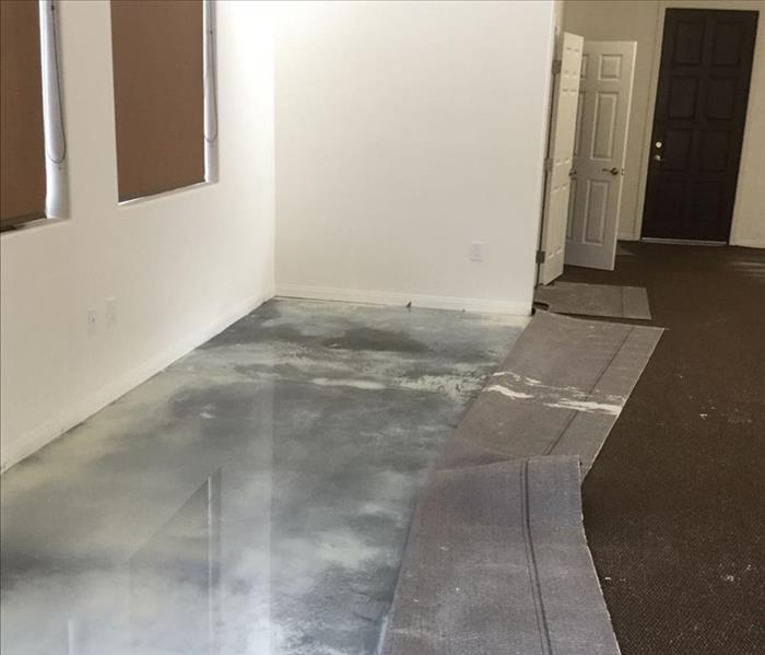 Major Water Loss at a Commercial Property Before
